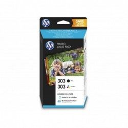 HP 303 Negro + Color Pack...