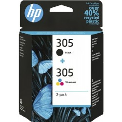 HP 305 Negro + Color Pack...