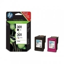 HP 301 Negro + Color Pack...
